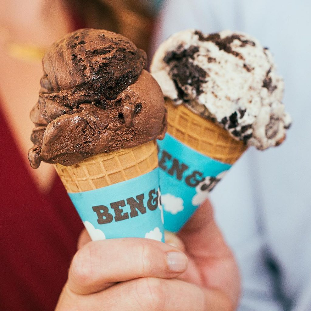 ben and jerry free cone day