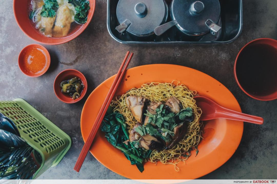 Battle of Chew Kee and Chiew Kee - Chew Kee soya sauce chicken noodle