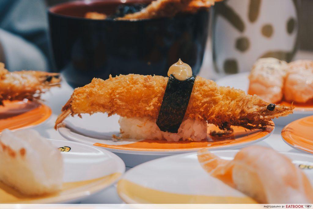 Punggol Food Genki Sushi