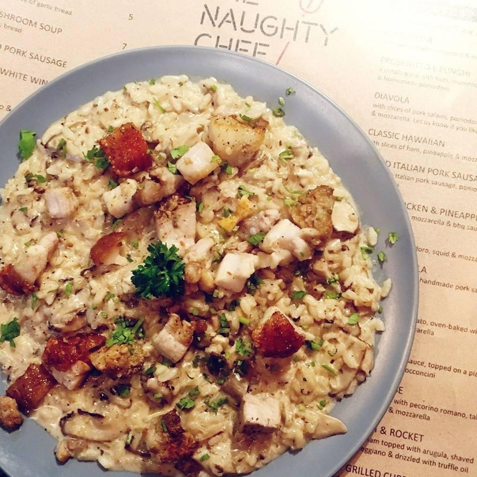 tanah merah food- the naughty chef