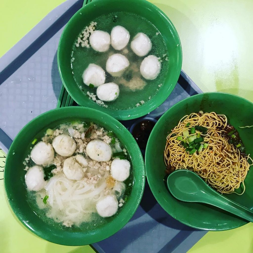 albert centre food - fishball