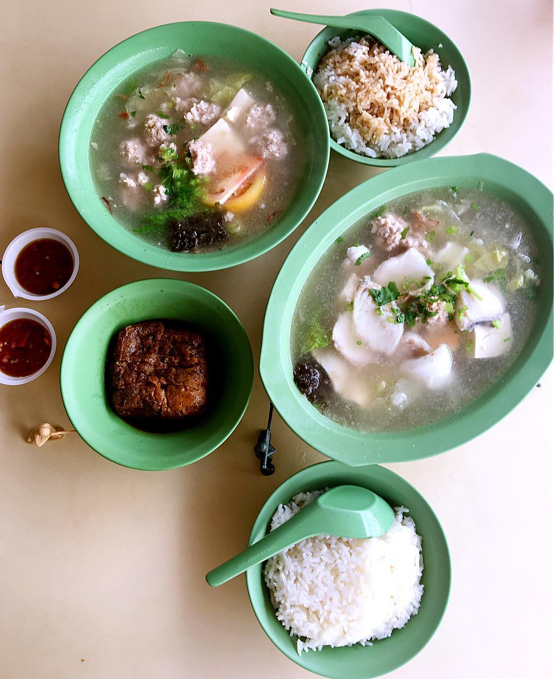 amoy street food centre- han kee fish soup