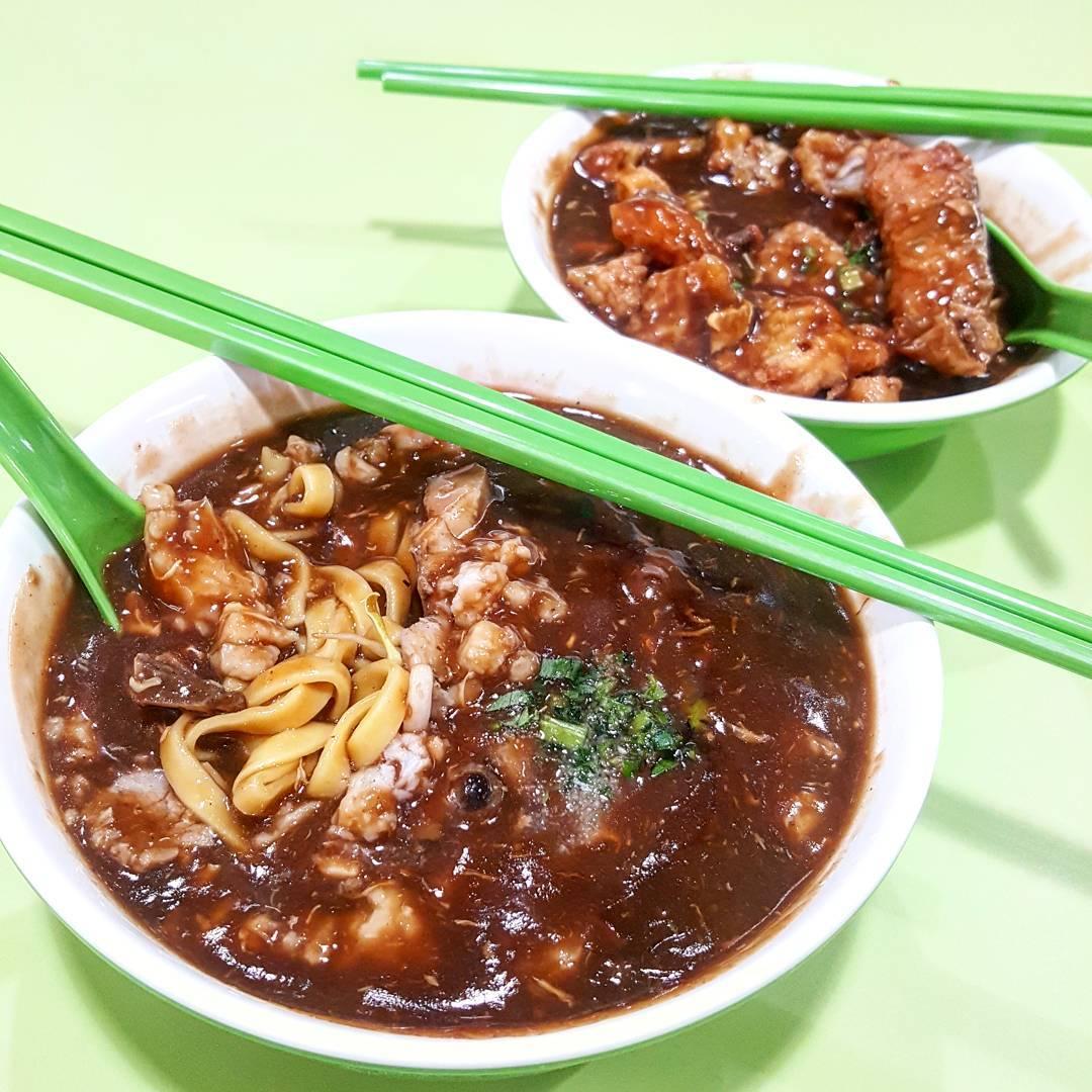 amoy street food centre yuan chun famous lor mee