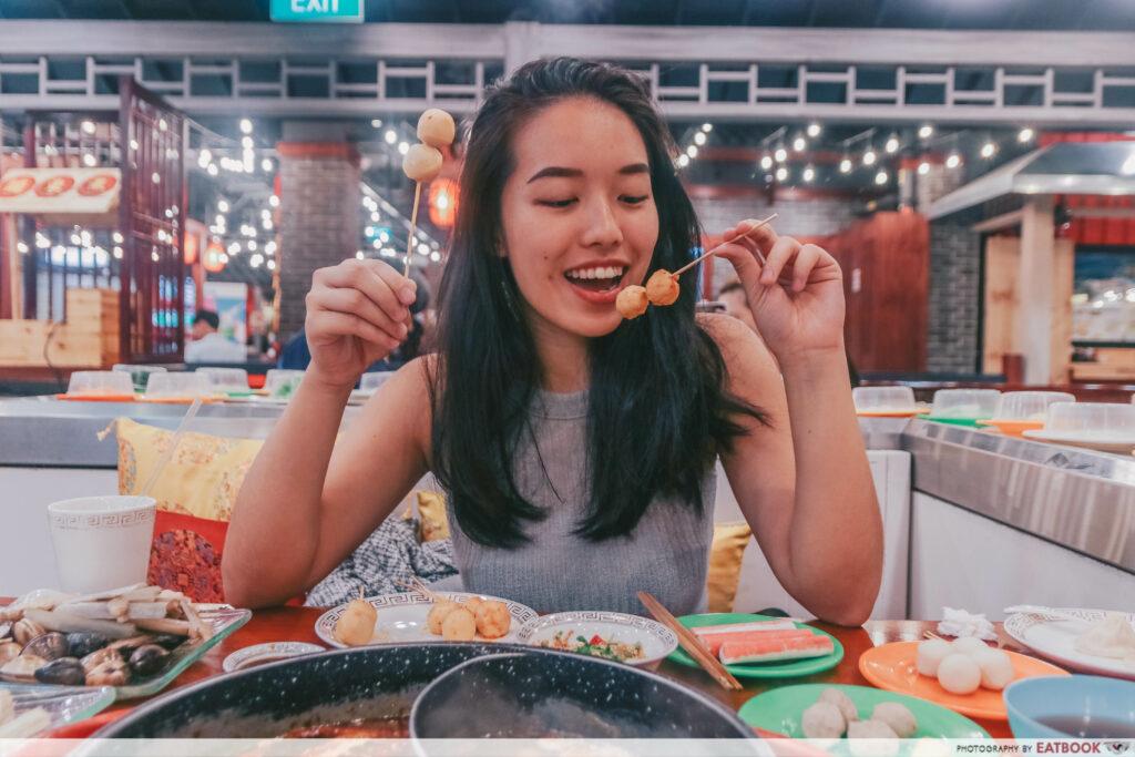 yi qian ling yi ye steamboat buffet - verdict