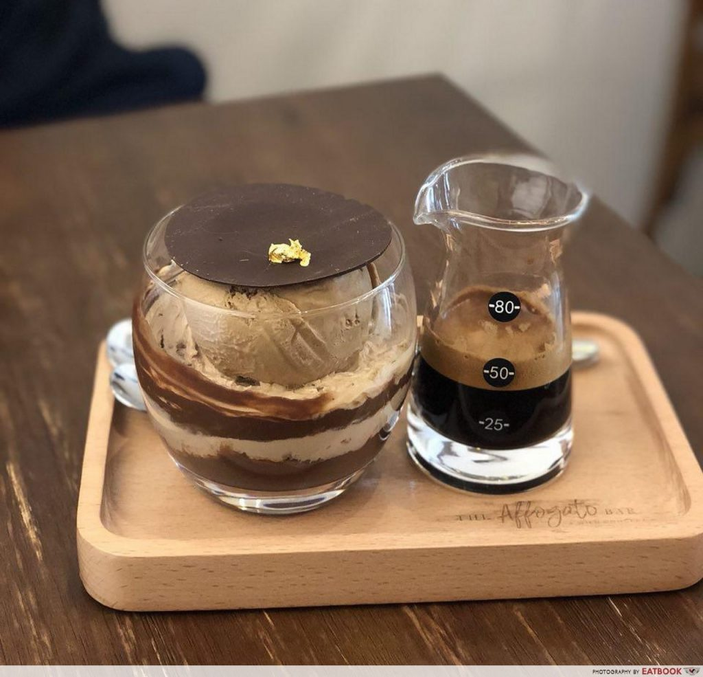 botanic gardens food - The Affogato Bar