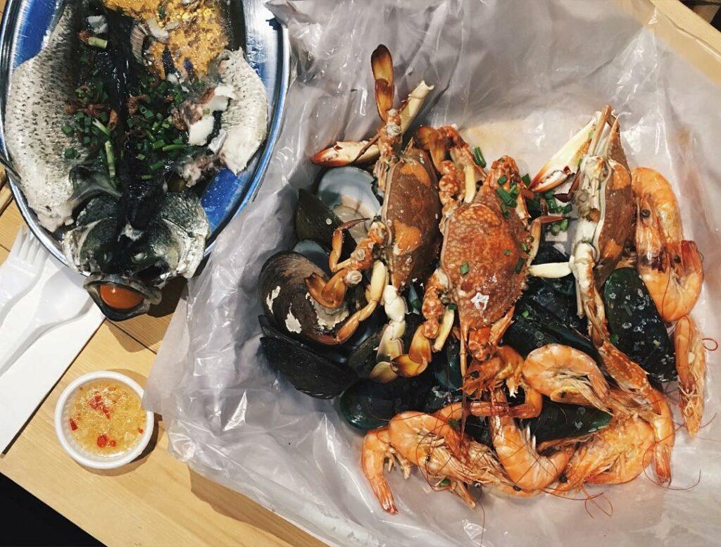 lorong chuan food Ah Hua Kelong