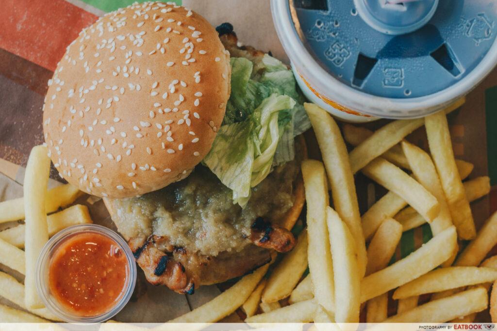 Burger King - Hainanese Tendergrill Chicken Burger
