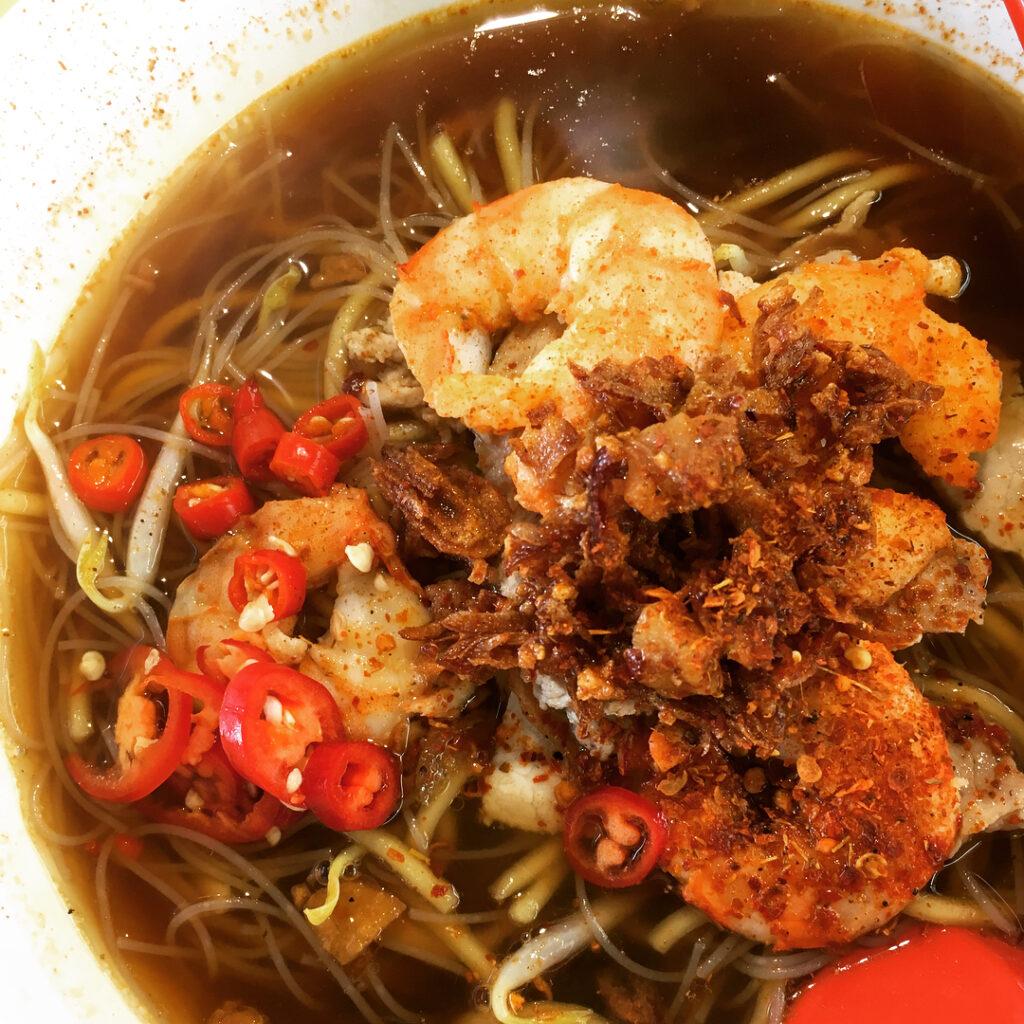 Little india food - prawn mee