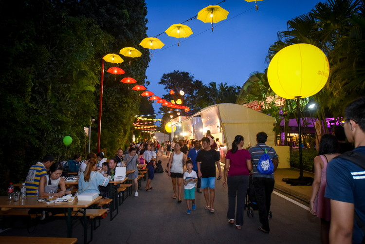 Sentosa GrillFest - street festival