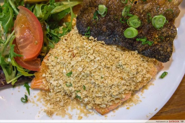 Daily Affairs - cereal salmon