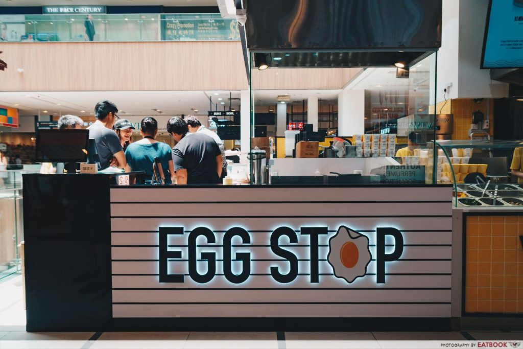 Egg Stop - paya lebar sq