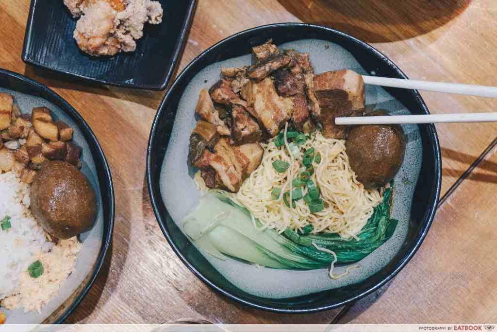 Free Dishes Maybank Eat at Taipei Braised Pork Belly Rice