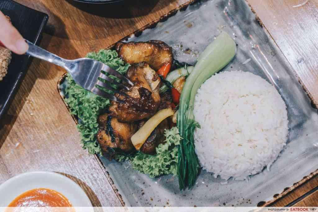 Free Dishes Maybank Eat at taipei nanbei chicken