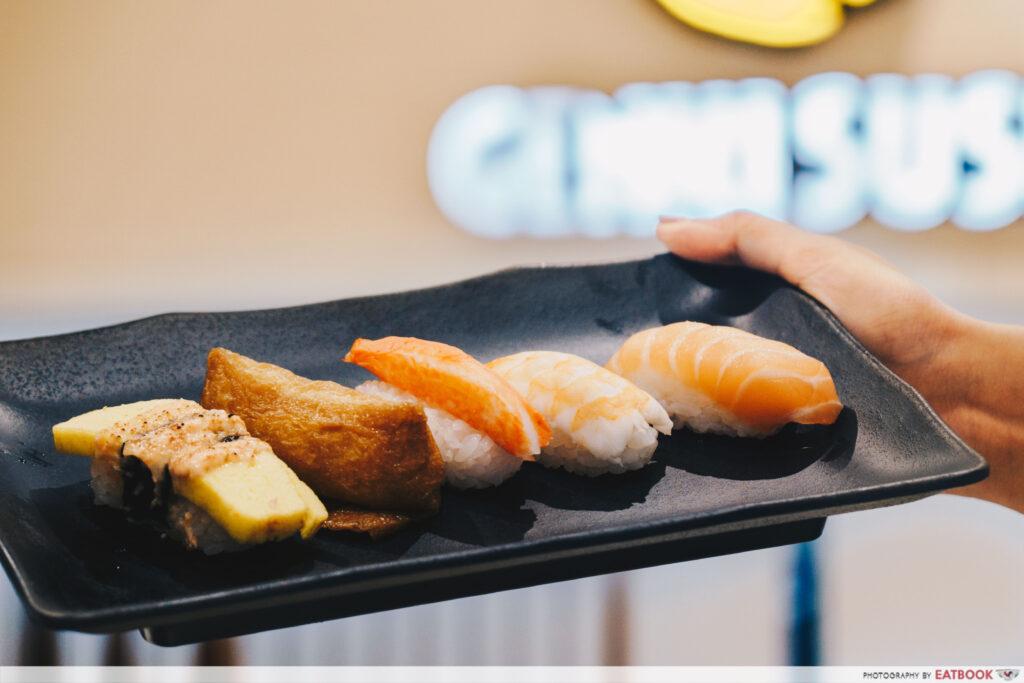 Genki Sushi Bishan Free Sushi