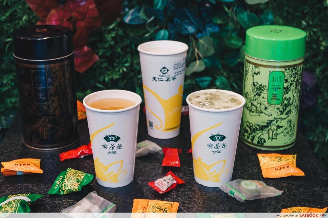 New Restaurants August 2018 - Ten Ren Tea Food