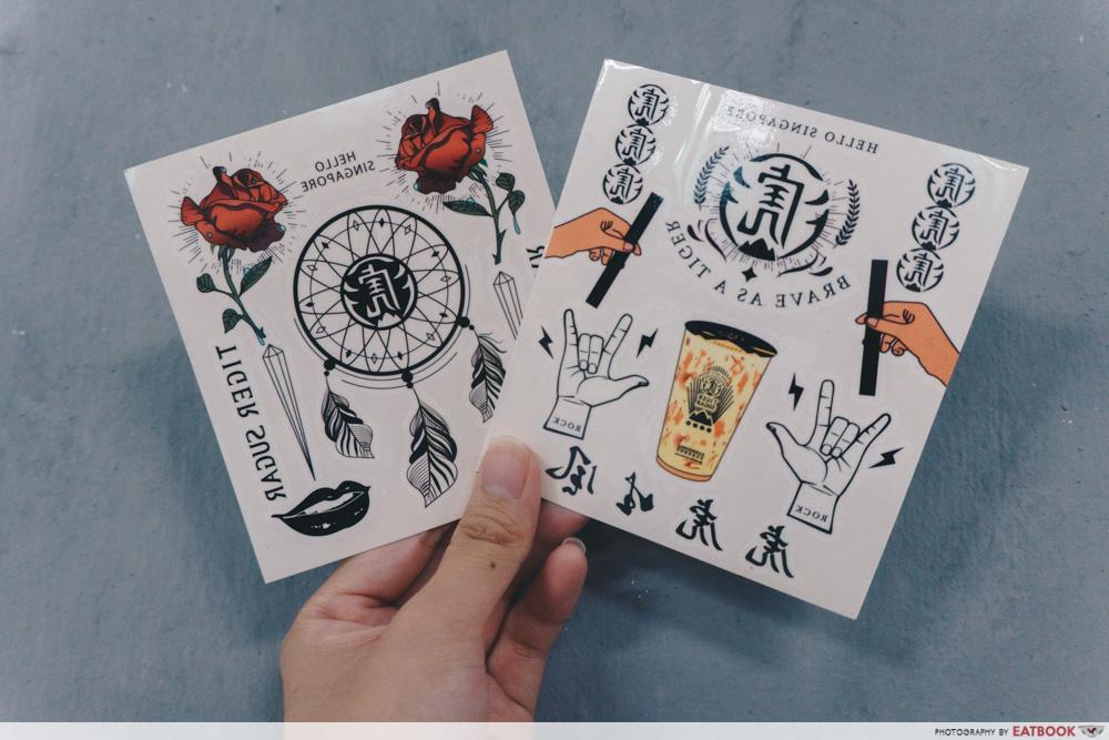 Tiger Sugar - Tattoos