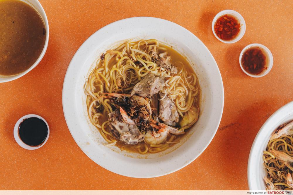 Big Prawn Noodles - Pork Rib Prawn Noodle