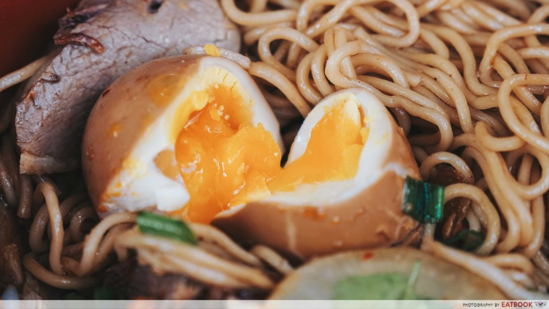 Jin Ji Duck Ramen Onsen Egg