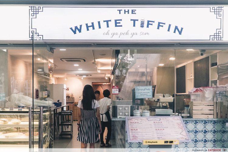 The White Tiffin Exterior