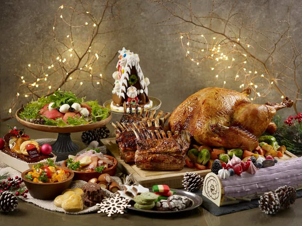 Christmas buffets 2018 Azur Restaurant