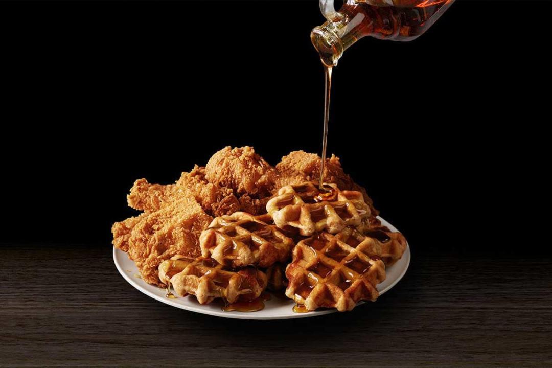 KFC Chicken Waffles - USA