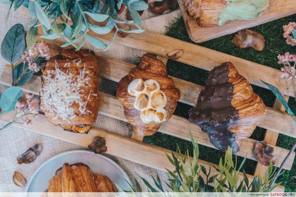 Lavender Food - Brotherbird Milk & Croissants