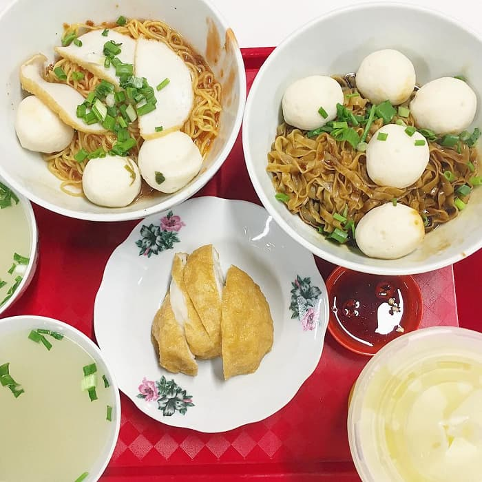 Simei Food Places 85 Redhill Teochew Fishball Noodles