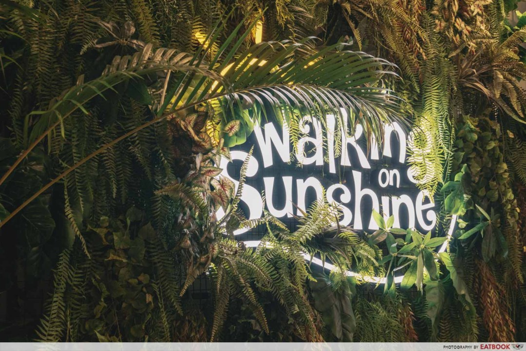 Walking On Sunshine - Sign