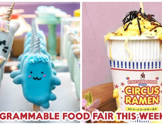 Marina Square's Whimsical Food Fair Is Back With 3D Cake Pops, Gourmet Marshmallows And 24K Gold Ice Cream
