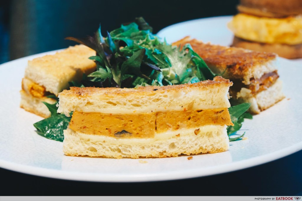 Clan Cafe Otah Sandwich