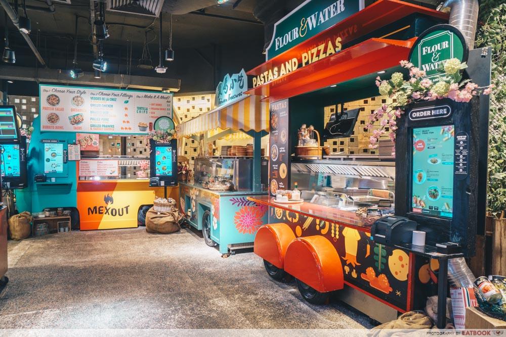 Picnic Buffet Food Truck