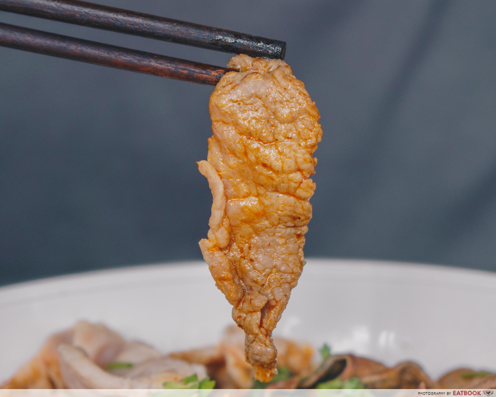 The Thai Society Ma La Boat Noodles beef noodles