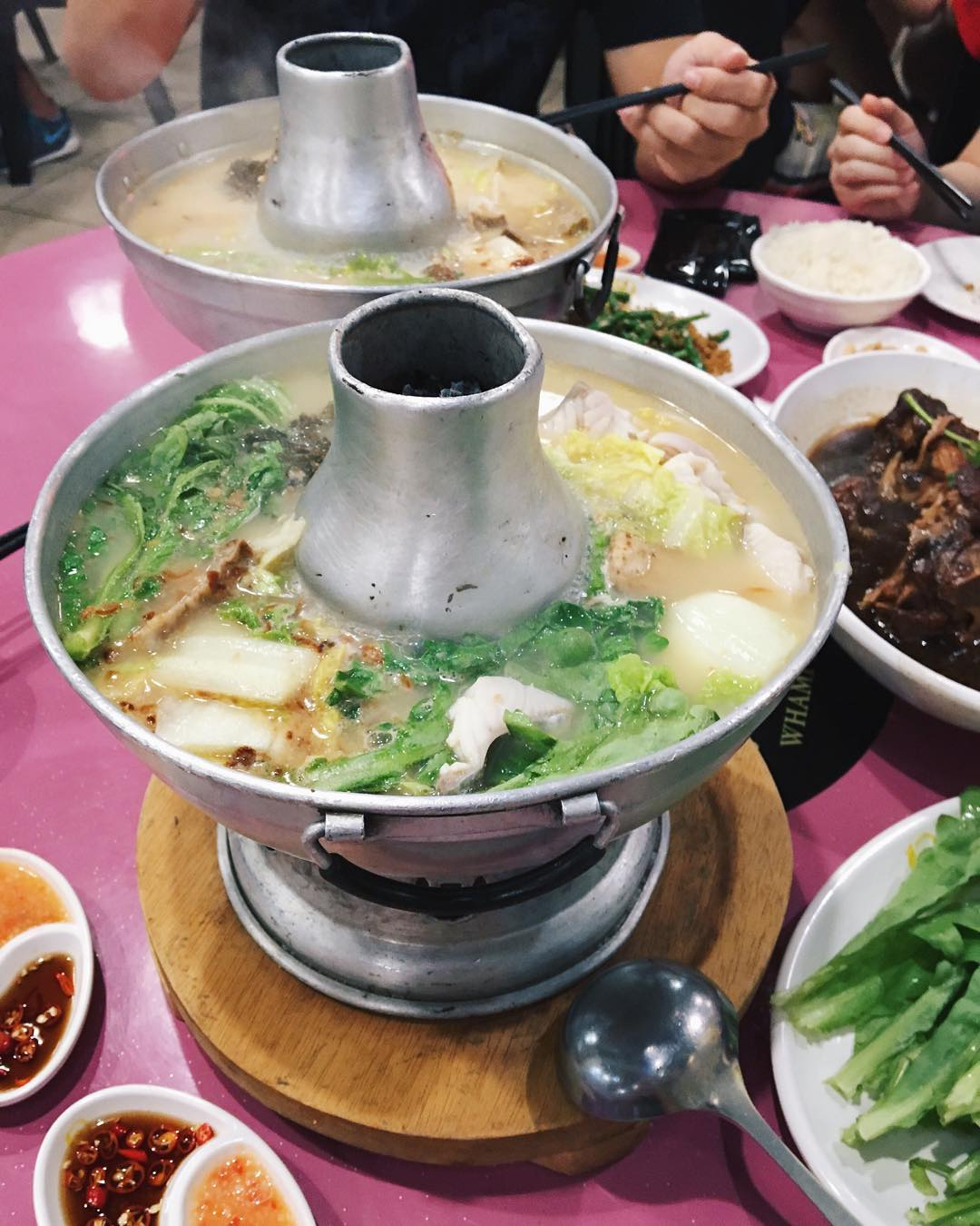 Farrer Park Food - Whampoa Keng Fish Head Steamboat