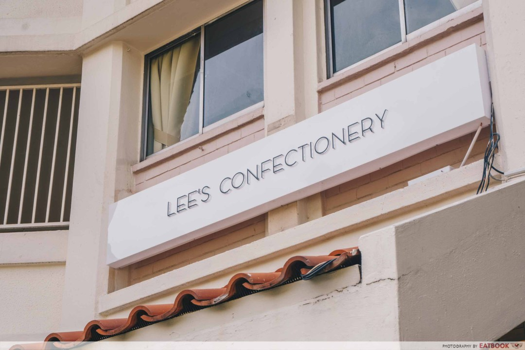 Lee's Confectionery sign