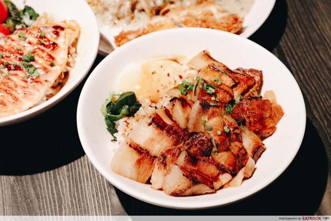 Little Bowl - Grilled Pork Belly Rice Bowl