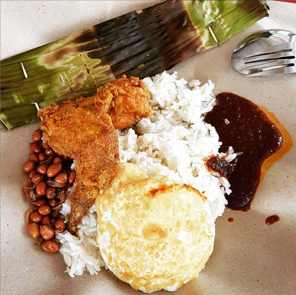 hawker centres west boon lay place market and food village boon lay power nasi lemak