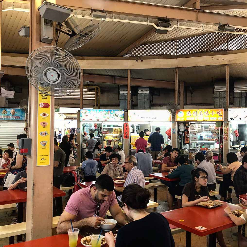 hawker centres west holland village food centre