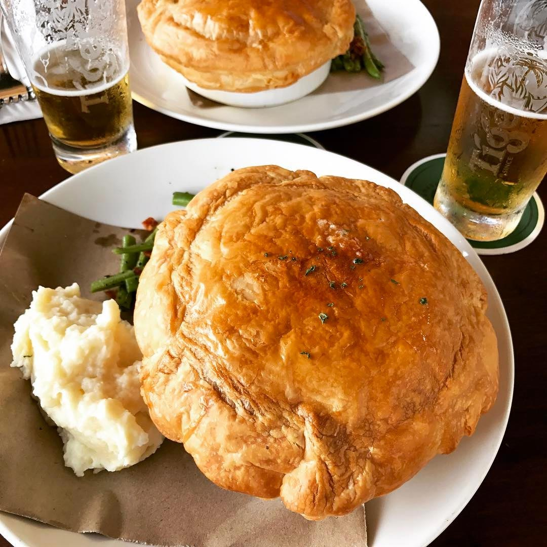 london dishes the penny black beef and guinness pie