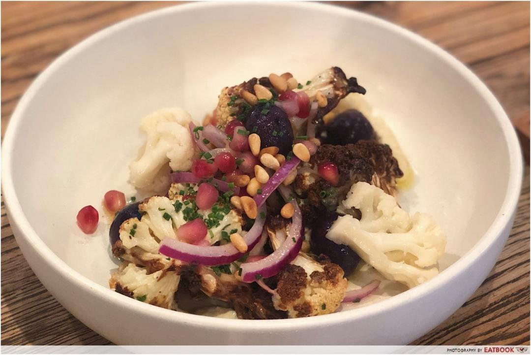 10 New Restaurants March - Stranger's Reunion Roasted Cauliflower Salad