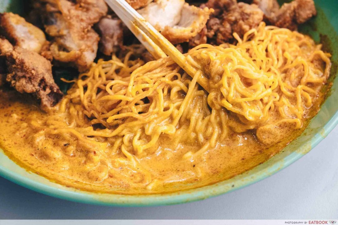 Cantonese Delights - Curry Closeup