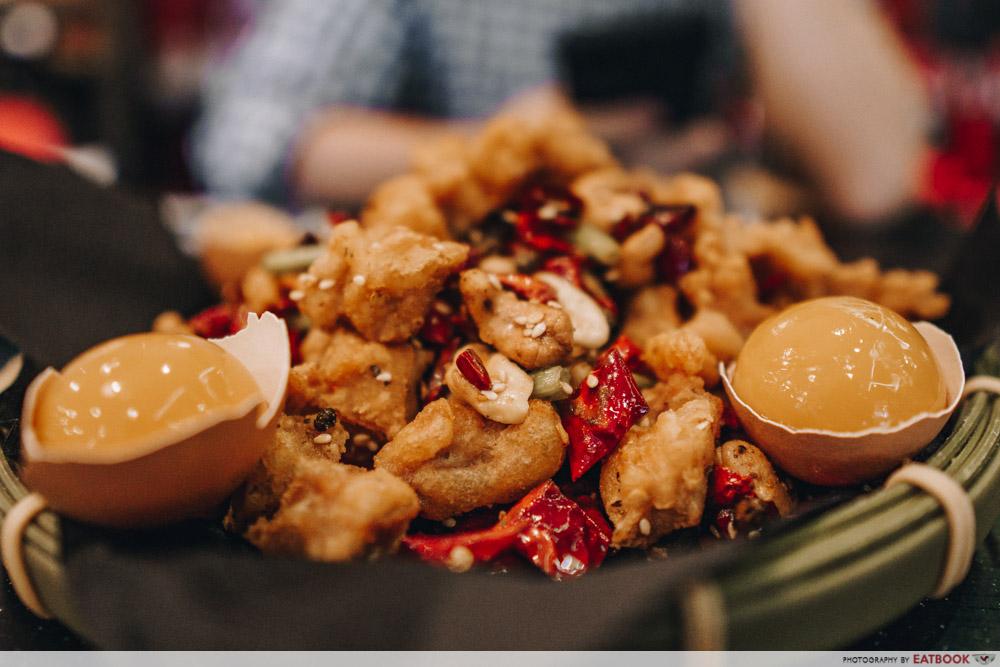 Ma La Restaurants in Town Lokkee Fire Cracker Chicken