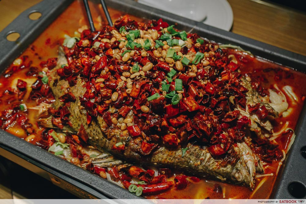 Ma La Restaurants in Town Riverside Grilled fish grilled