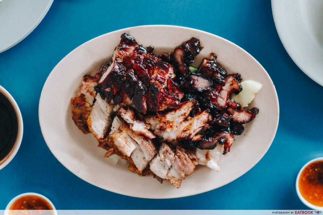 Mei Mei Roast - roasted pork and char siew platter