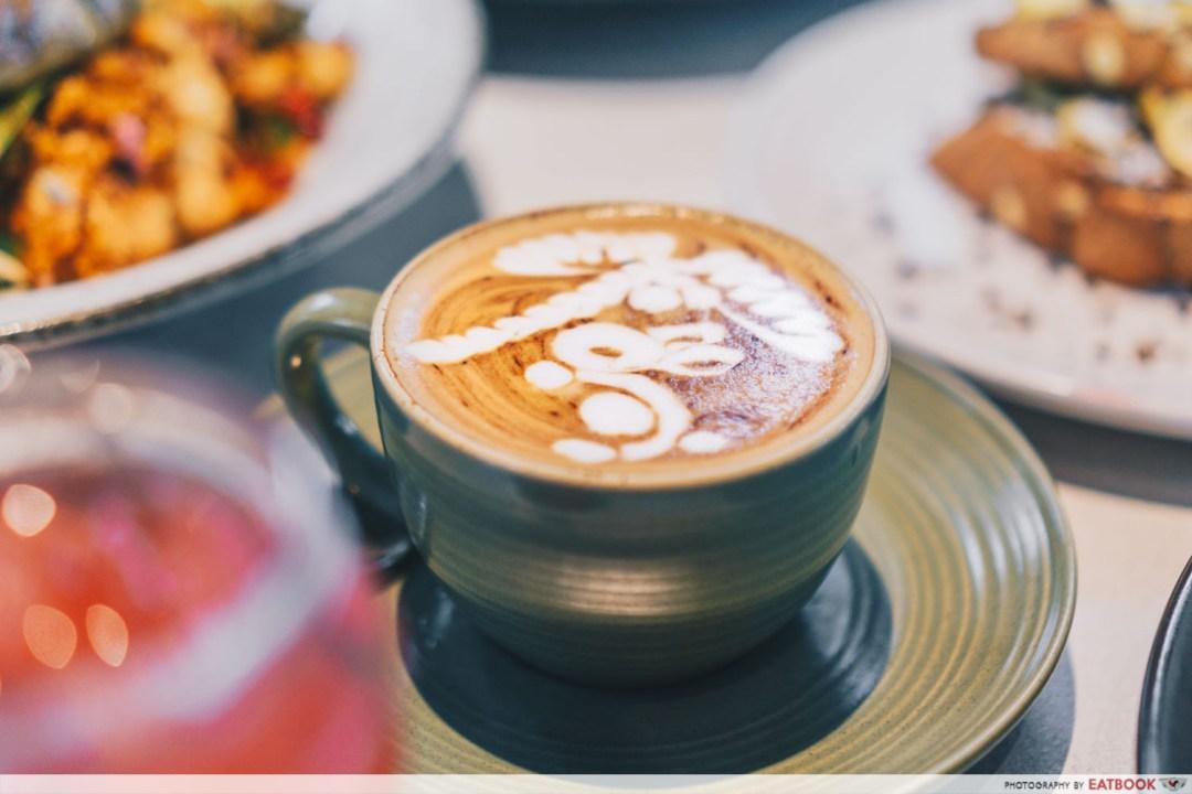 People & Places latte
