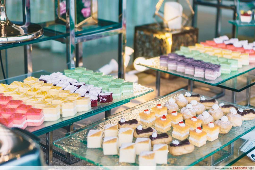 Rasel Catering dessert table spread