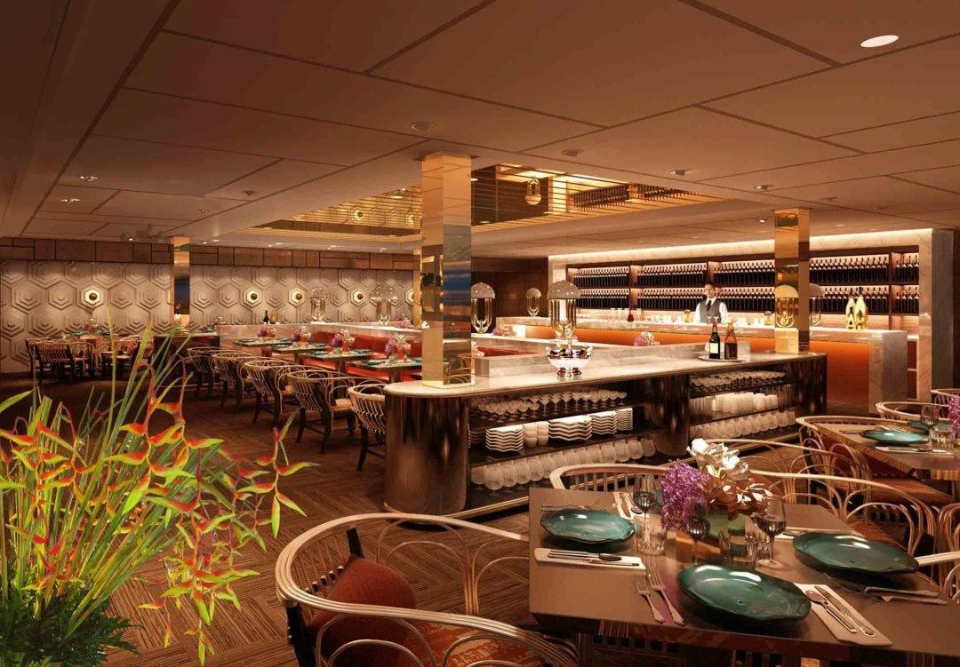 Romantic Restaurant - Aura