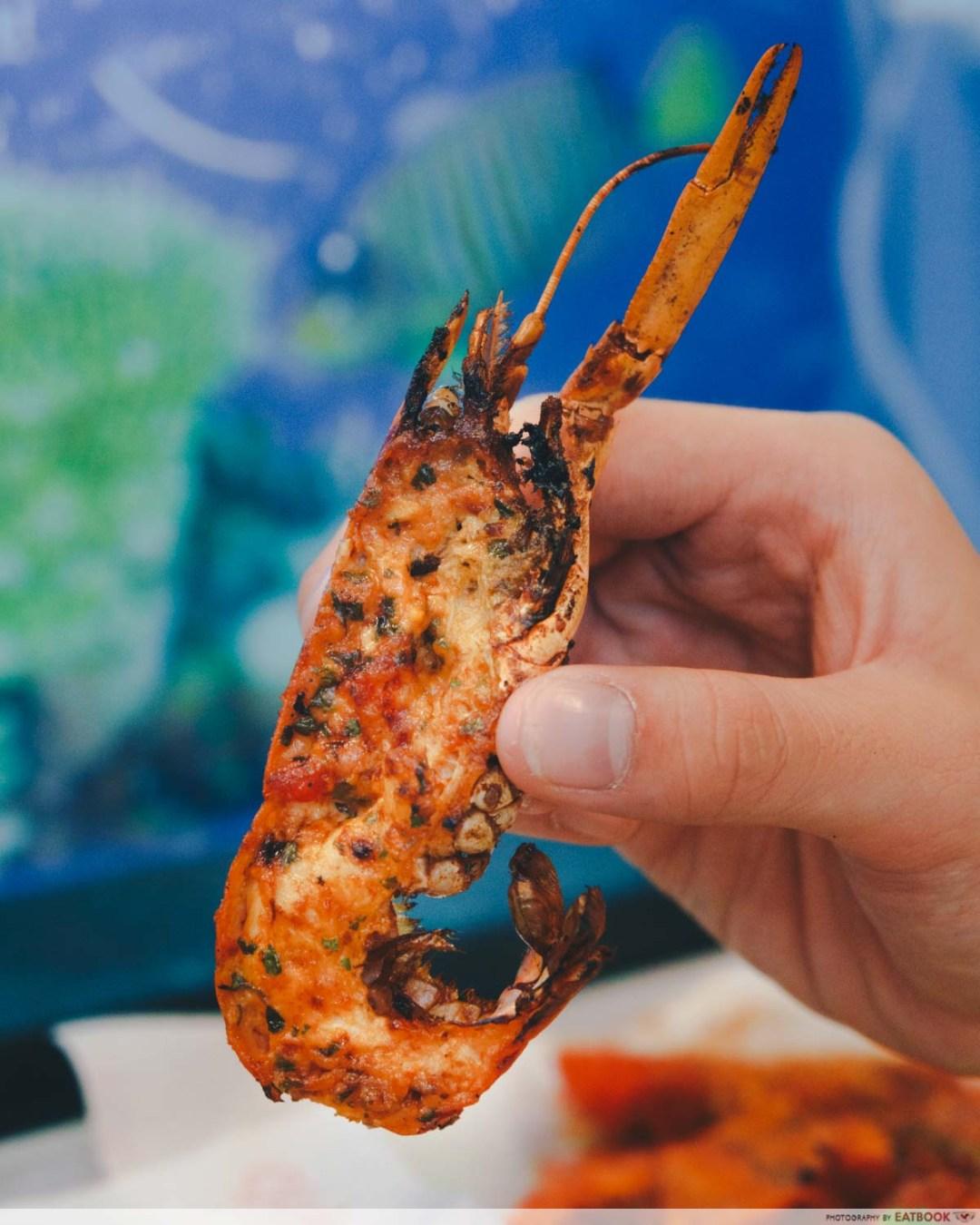 gosh! inspiring creations mini lobster nasi lemak lobster