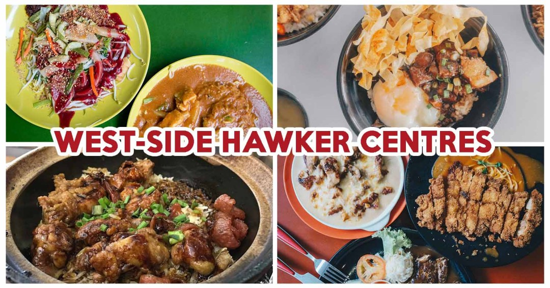hawker centres in the west