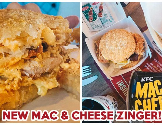 kfc mac and cheese zinger burger ft img