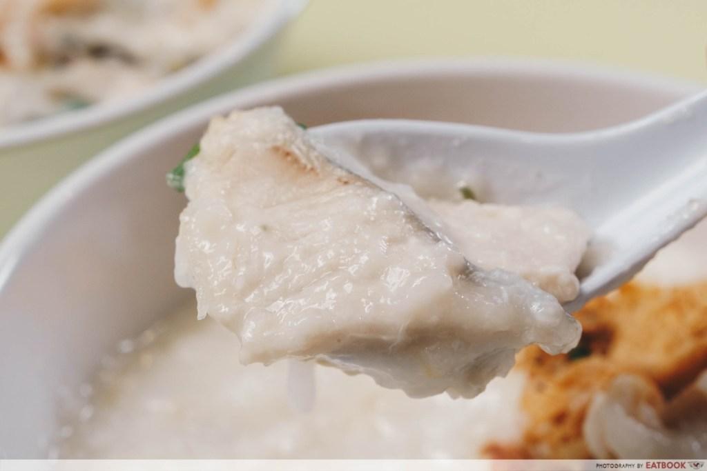 Botak Delicacy batang fish porridge